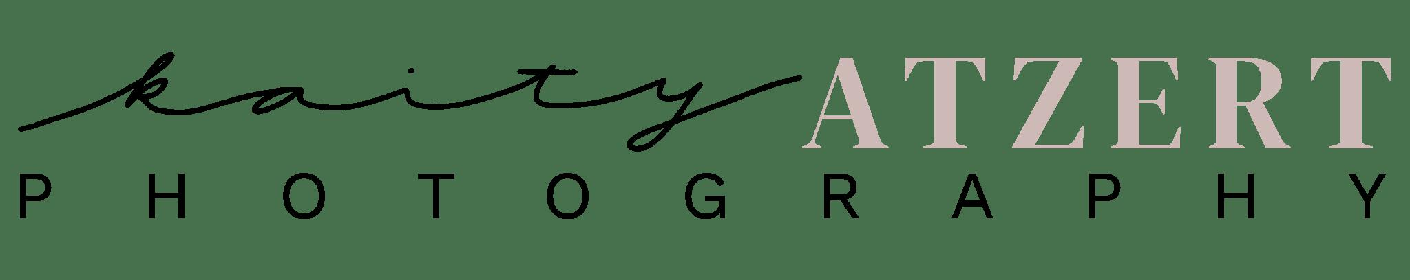 Kaity Atzert Photography Logo
